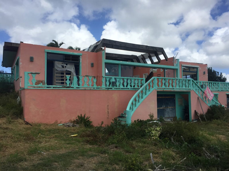 Storm damage from hurricane insurance company settled with adjuster