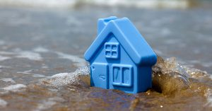 Flood damage home owners insurance claim